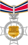 state and local badge of bravery